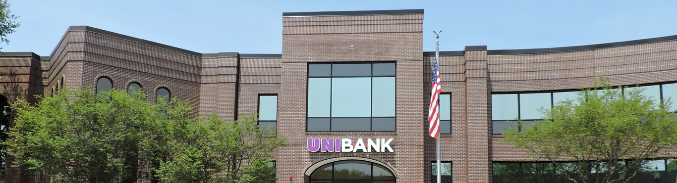 UniBank's Whitinsville Main Office Branch